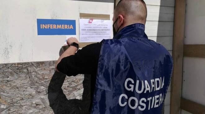 sequestro stabilimento Terracina