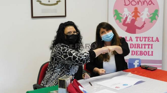 accordo laboratorio una donna circoli insieme per il meridione
