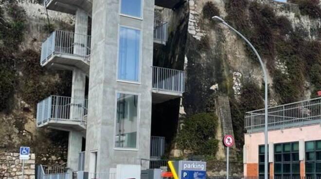 ascensore centro storico Terracina