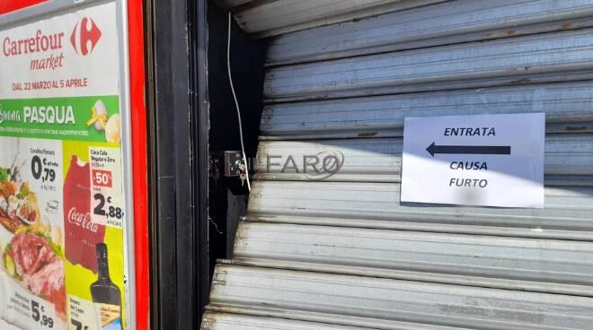 furto Carrefour Ardea