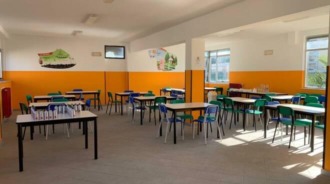 "nuova mensa al ""De Amicis"""