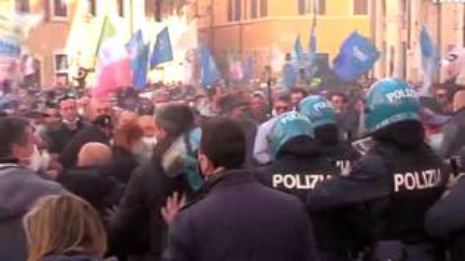 manifestazione Montecitorio