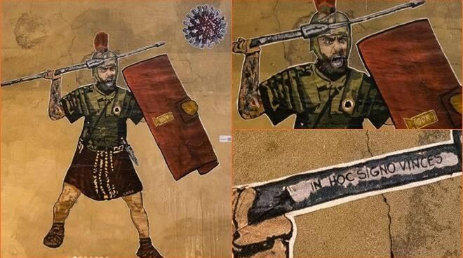 murales daniele de rossi
