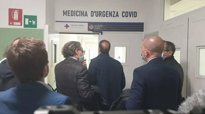 reparto medicina covid anzio
