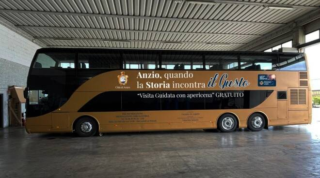 Anzio bus apericena