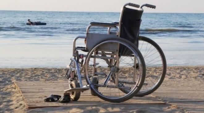 disabili spiaggia