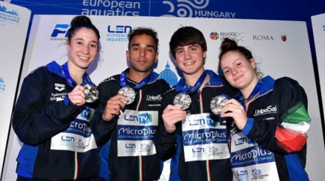 europei tuffi team event