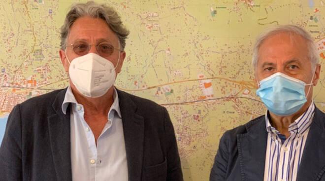 Gianfranco Conte e Giuseppe Racca