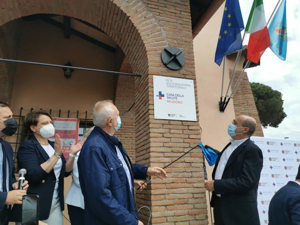 inaugurazione casa della salute palidoro