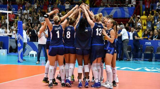italia femminile volley