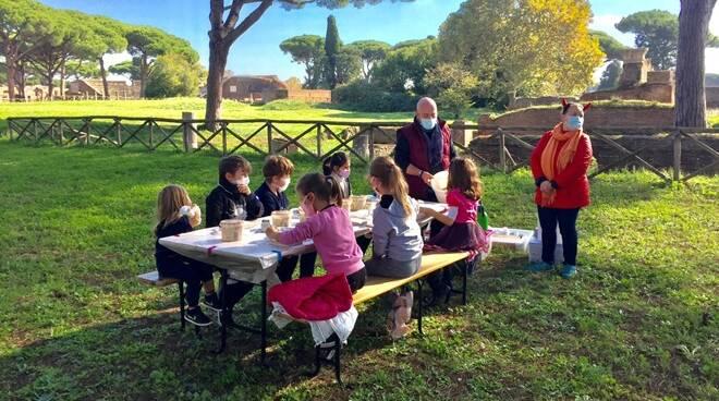 laboratori bambini parco archeologico ostia antica