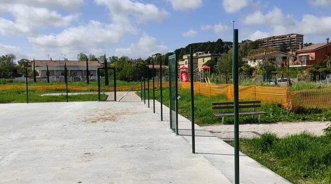 lavori parco via melicuccà casaletto di giano