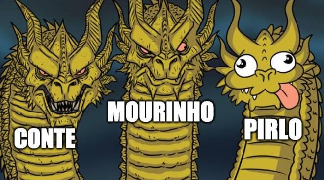 mourinho allenatore as roma meme divertenti