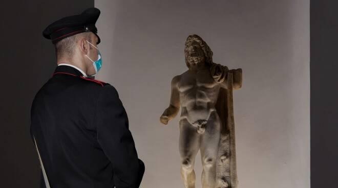 Parco Archeologico Ostia e carabinieri