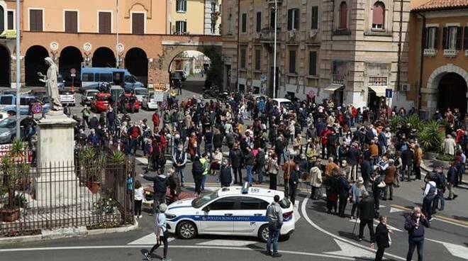 Protesta Montesacro
