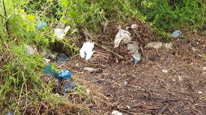 rifiuti riserva litorale romano bagnoletto