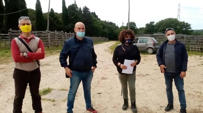 sopralluogo progetto ossigeno università agraria tarquinia