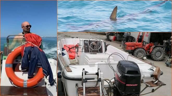squalo a fiumicino, alessandro sanna