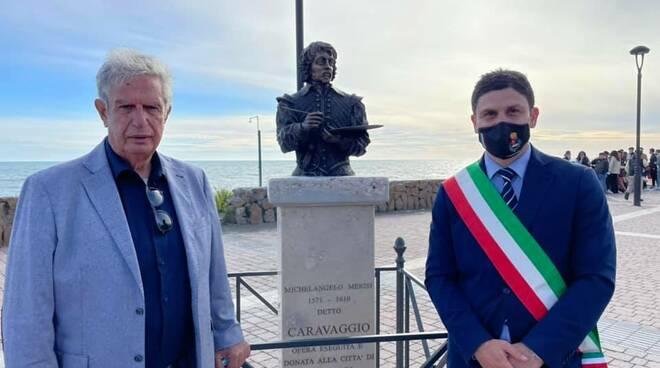 statua caravaggio