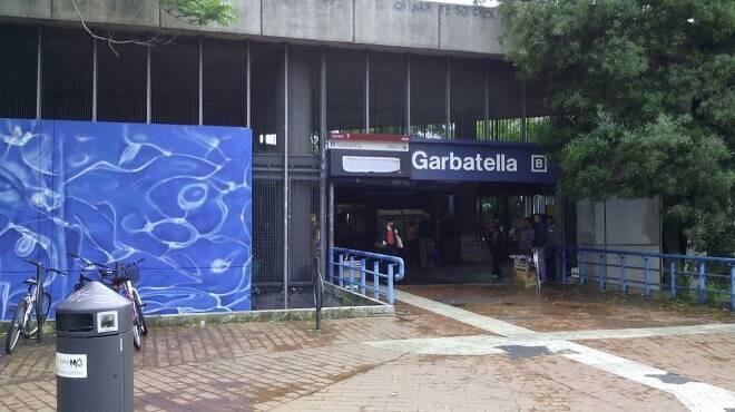 stazione metro b garbatella