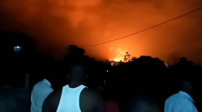 vulcano Nyiragongo
