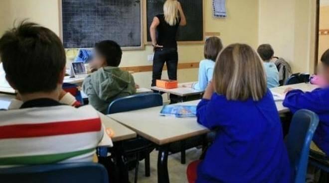 bambini in classe a scuola