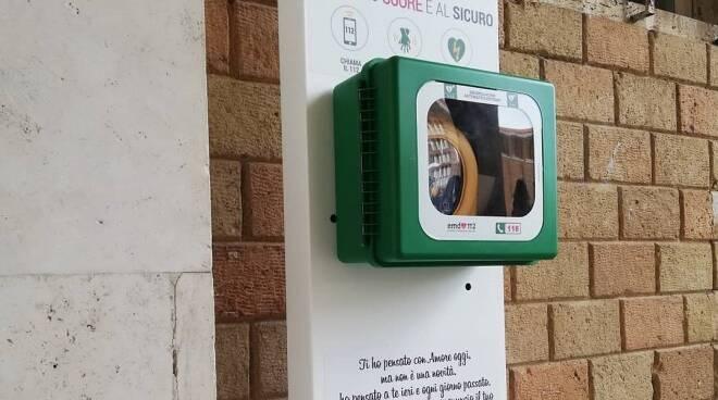defibrillatore Pomezia