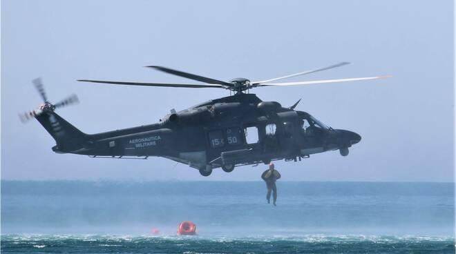 esercitazione aeronautica militare foce verde latina