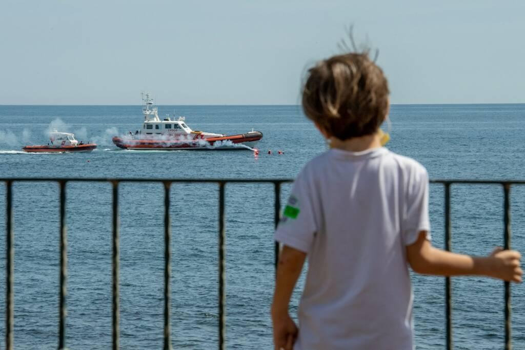 esercitazione guardia costiera ospedale pediatrico bambino gesù