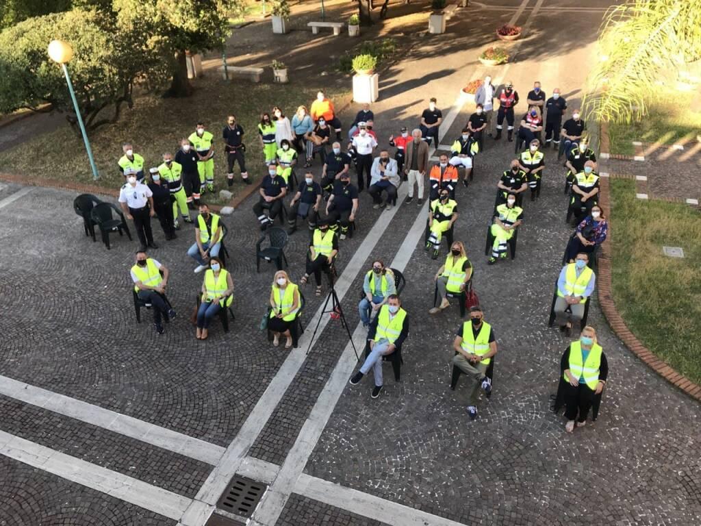 gruppo volontari protezione civile Latina