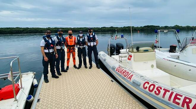 guardia costiera lago di paola