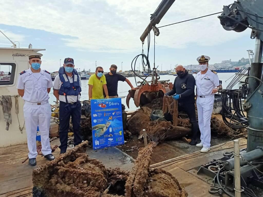 operazione mare pulito golfo gaeta