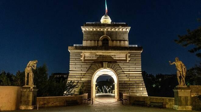 ponte milvio torretta valadier roma