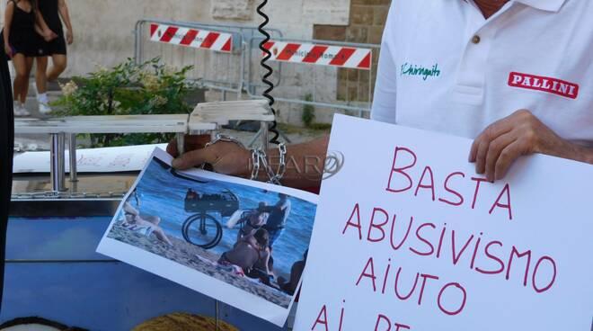 protesta ambulanti municipio x ostia