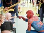 spiderman ospedale