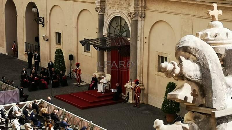 vaticano udienza generale papa san damaso
