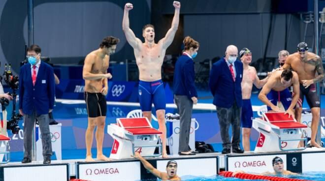 4x100 stile argento olimpico