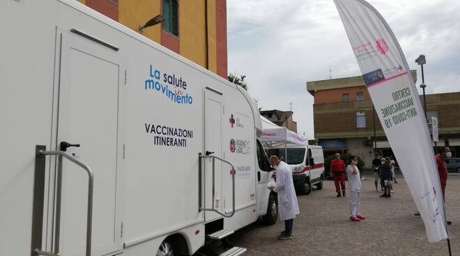 camper vaccino pomezia