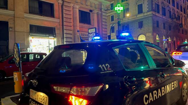 carabinieri notte roma