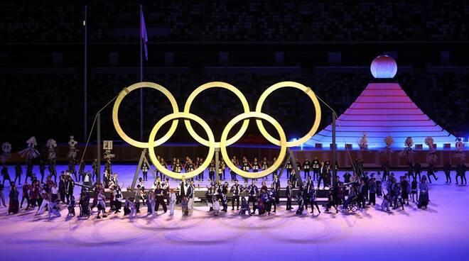 cerimonia apertura olimpiadi tokyo 2020