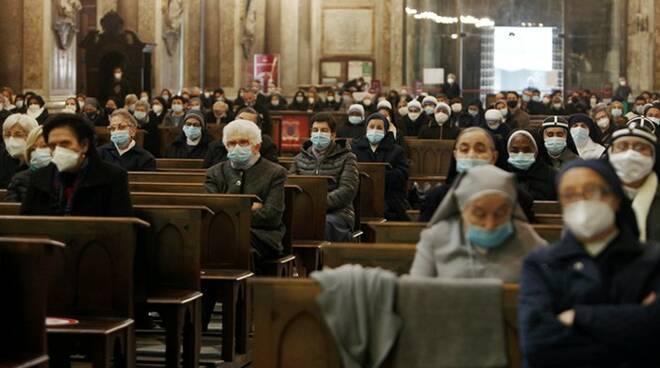 chiesa messa coronavirus covid