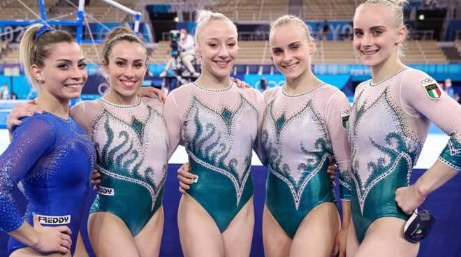 italia donne ginnastica artistica