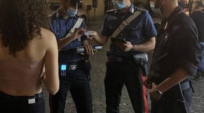 mala movida roma carabinieri