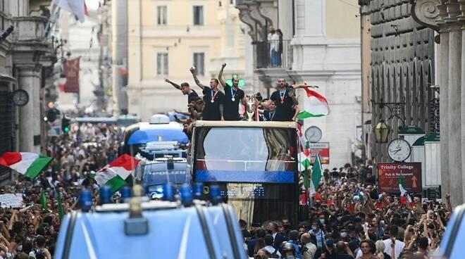 nazionale festa azzurra roma