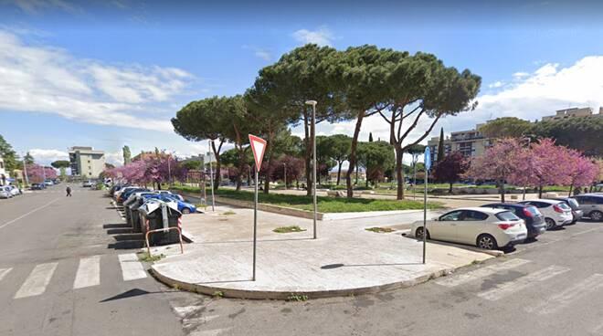 Piazza Castano Tor Bella Monaca