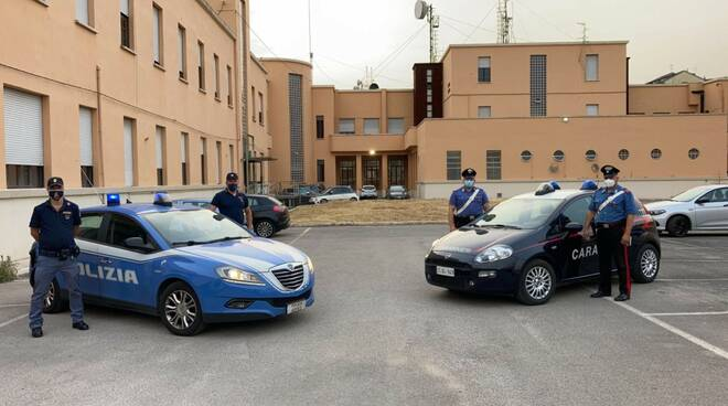 polizia e carabinieri latina
