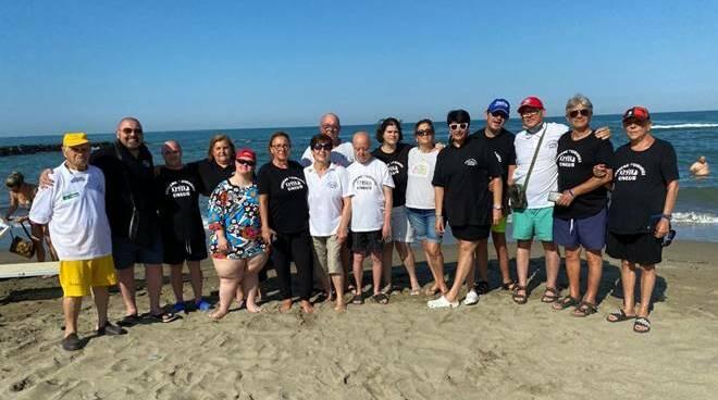 spiaggia disabili focene