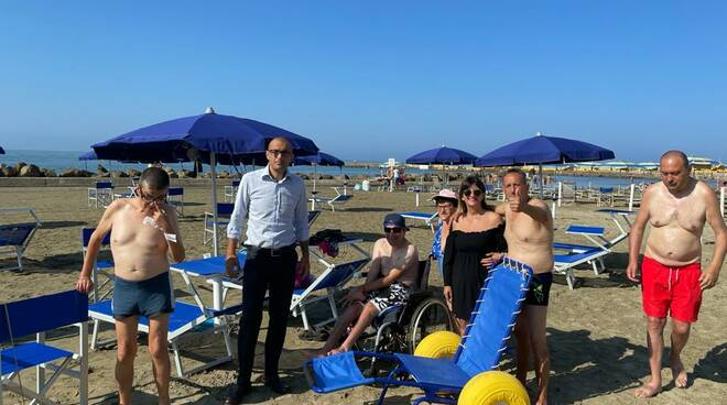 spiaggia disabilità