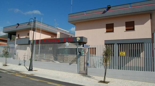 stazione carabinieri sperlonga