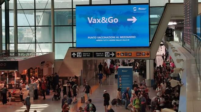 vax e go aeroporto vaccino covid